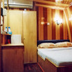 Standard double cabin with queen size bed on MV Celebes Explorer's main deck