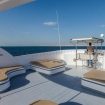 Check out the inviting sun deck