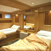 M/Y Felo spacious Standard twin bed cabin