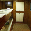 MV Sea Hunter's Lower deck twin bunk bed en-suite cabin