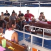 Andaman Tritan's dive briefing on the open air upper deck