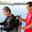 Professional personal attention from the Kona Aggressor II liveaboard staff