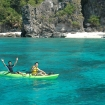 Kayak fun on cruises to Tubbataha and the Visayas