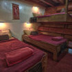 The beautiful rustic Triple bed cabin on the Junk
