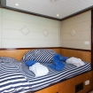 Standard double bed cabin