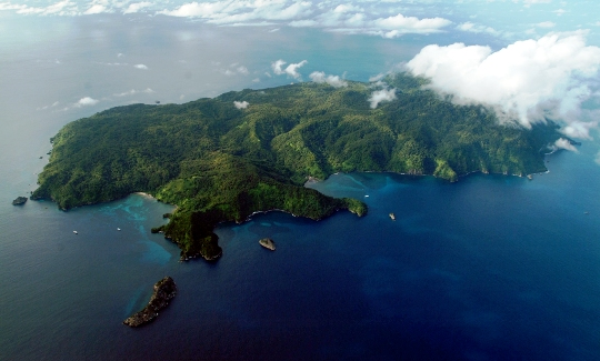 Map Of Costa Rica And Cocos Island