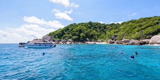 Diving In Similan Islands Thailand Dive The World Vacations