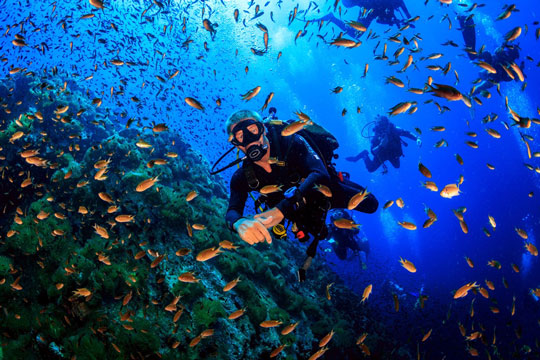Scuba Diving - Malta