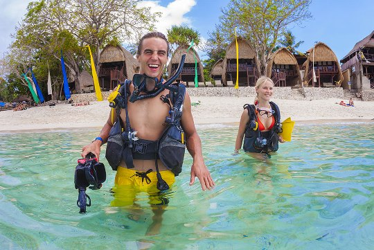 dive trips where you learn how to dive