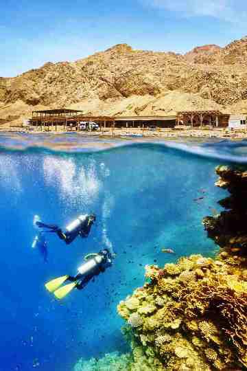 Egypt tours nile cruises pyramids museums dive the world - Dive inn resort egypt ...