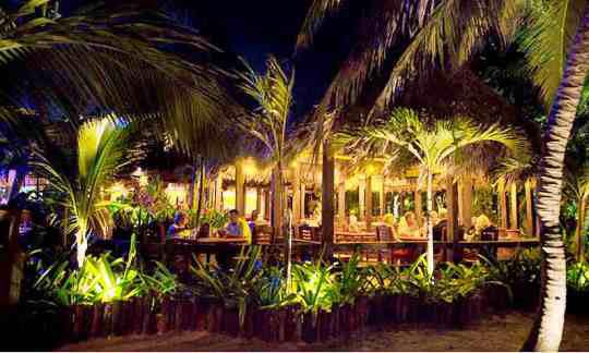 Restaurant Area Of The Ramon S Village Resort Ambergris Caye