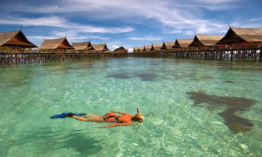 Sipadan dive resorts mabul and kapalai malaysia dive - Kapalai dive resort ...