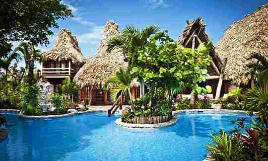 Belize Ramon S Village Resort Pool Area Ambergris Caye