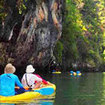 Holiday activities in Krabi -  sea canoeing