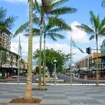 Cairns city centre, northern Queensland