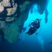Scuba diving at the Blue Hole