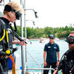 Equipment familiarisation is important in the PADI Rescue Diver course.