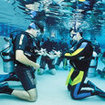 Pool instruction during the PADI Scuba Diver Course