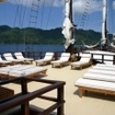Enjoy the fine sunshine in Indonesia on board the Dewi Nusatara liveaboard