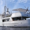 Stern view of the Wakatobi liveaboard, Pelagian