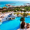 Hilton Hurghada Plaza Hotel pool area, Egypt