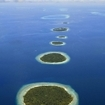 The spectacular coral atolls of the Maldives
