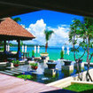 The Pavilion Resort restaurant area, Samui