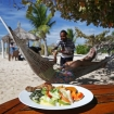 Lunch on Tivua, Fiji