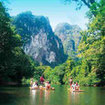 Rafting at Khao Sok National Park, near Khao Lak