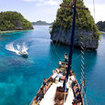 Liveaboard diving charters in Raja Ampat, Indonesia