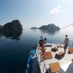 Cruising the Burma Mergui Archipelago on the Thai Sea