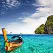 One of the beautiful islands off Krabi, Thailand