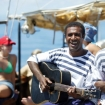 Musical entertainment on this Fiji day cruise