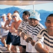 Help haul up the masts for this Fiji day cruise
