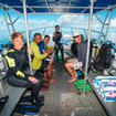 Start your scuba daytrips with a dive-briefing at the Paradise Taveuni Resort