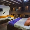 Lower deck, Deluxe double bed cabin aboard WAOW