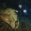 Umbria wreck, an old car in the hold of the sunken ship, SUDAN, Red Sea