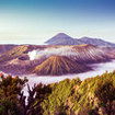 Bromo volcano, East Java in Indonesia