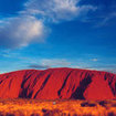 Uluru, or Ayer's Rock, is one of Australia's most famous landmarks