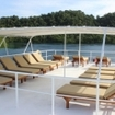 The sundeck of Banda liveaboard, the Mermaid I