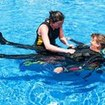Scuba Diver Course pool skill training session