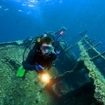 Scuba diving at the Abu Nuhas wrecks in the Red Sea
