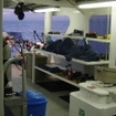 The Nautilus Explorer dive deck for liveaboard charters to Guadalupe Island