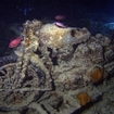 A BSA motorbike on the Thistlegorm wreck, Egypt