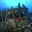 Wreck diving at North Male