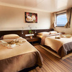 Cabin accommodation in this fantastic cruise destination