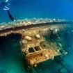 Wreck diving tours in Palau