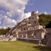 The Palace or Building of the Five Stories, Edzna, Yucatan
