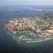 Male, the capital city of the Maldives, North Male Atoll