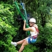 A forest canopy tour at Cape Tribulation